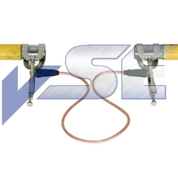 Hütz & Baumgarten Rohr-Gripzange mit Überbrückungskabel