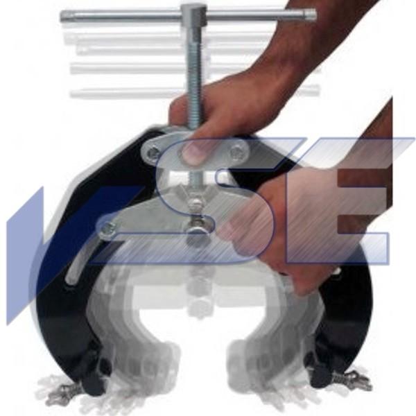 Sumner 3-Punkt-Rohrhaltevorrichtung ULTRA QWIK CLAMP