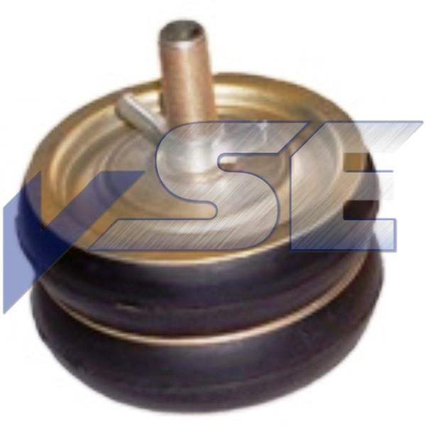 Rohr - Absperrscheiben Rohrstopfen mit 2 Dichtring Ausführung in Stahl