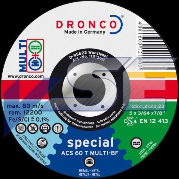 Dronco Trennscheibe ACS 46 / ACS 60 T multi