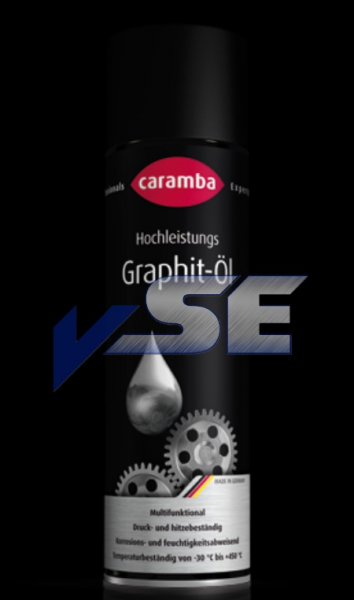 Caramba Hochleistungs Graphit-Öl