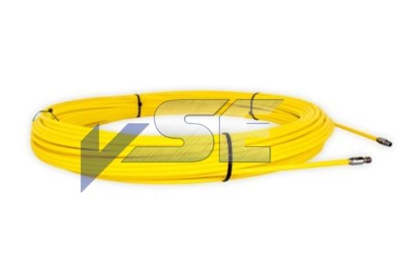RUNPOTEC Ersatz-Glasfaserstab Ø 9 mm mit Endhülsen/Gewinde RTG Ø 12 mm