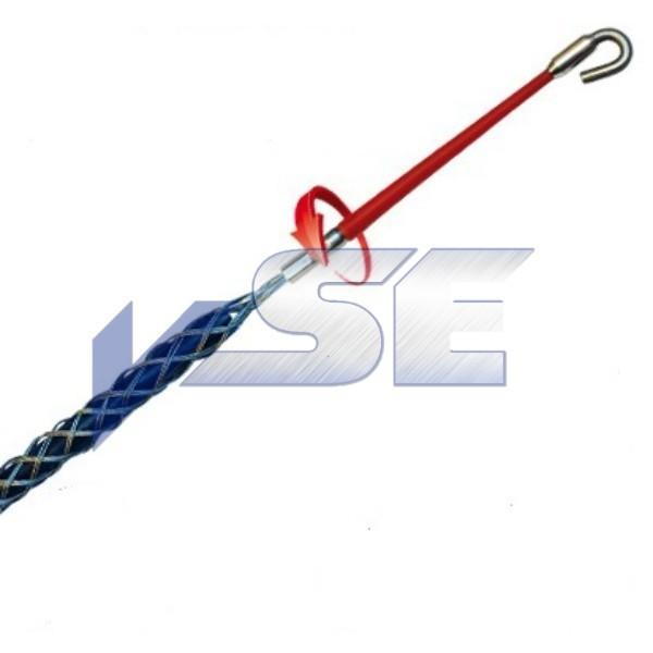 RUNPOTEC Kabelziehstrumpf mit Drallausgleich