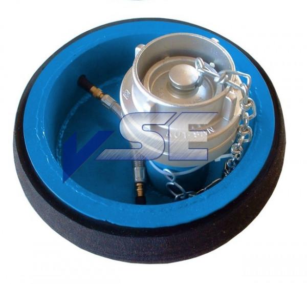 Pneumatischer Rohrverschluss