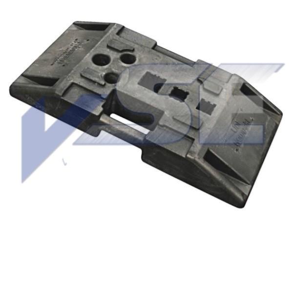 Nissen Sicherheitsfußplatte TL 56 K1 Bakenfüße