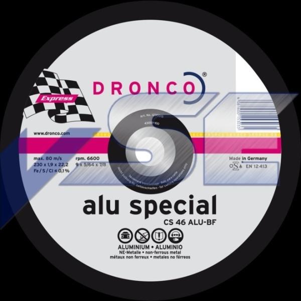Dronco Trennscheibe CS 46 ALU special 230 x 1,9 x 22,23