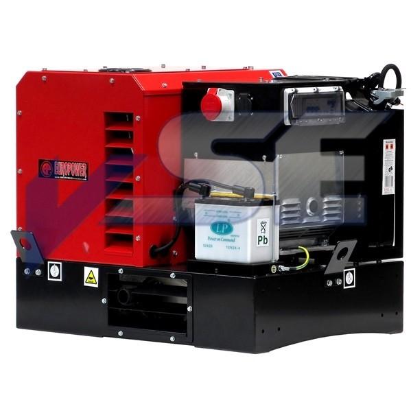 EUROPOWER Stromerzeuger EPG 15000 TE 15 kVA