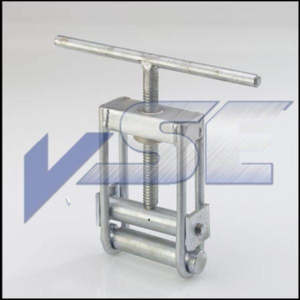 Rohrabquetschgerät Rohrabquetschpresse 63 - 110 mm