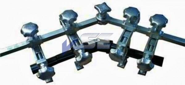 VSE Rohrhalteklemme 4-fach, 20-63 mm