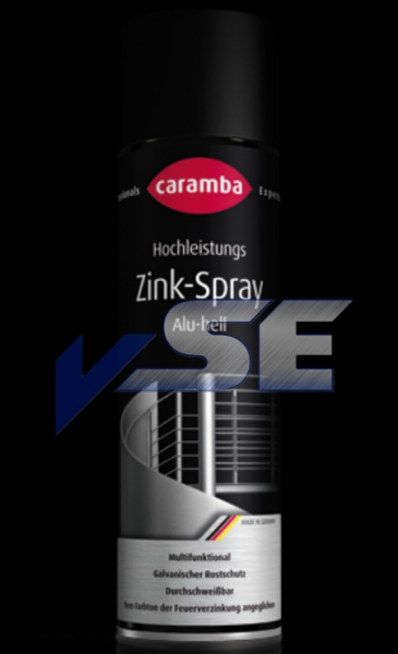 Caramba Hochleistungs Zink-Spray Alu-Hell