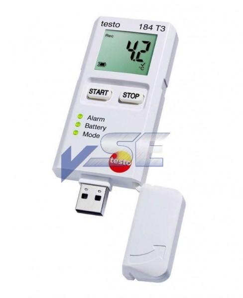 testo 184 T3 Temperaturdatenlogger für Transportüberwachung