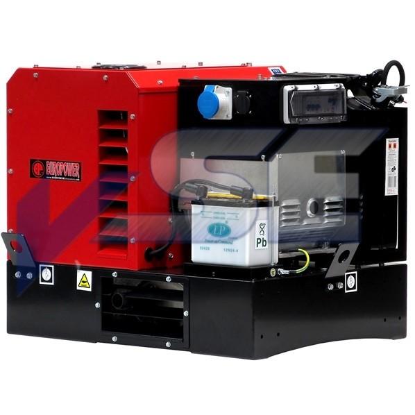 EUROPOWER Stromerzeuger EPG 10000 E 10 kVA