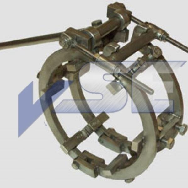 RAZ Rohraussenzentrierung mechanisch mittelschwere Ausführung VA