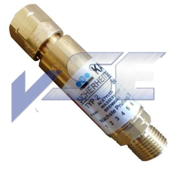 Kayser GCE Sicherungseinrichtung Gebrauchstellenvorlage Brenngas