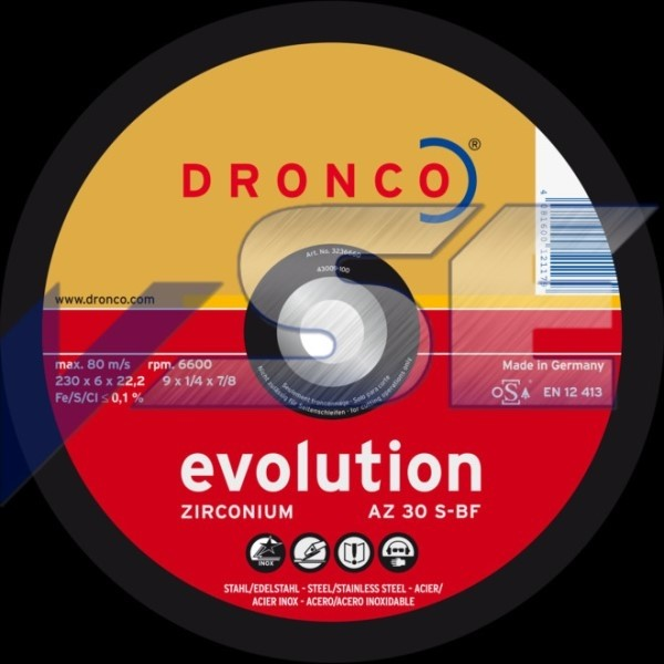 Dronco Schruppscheibe AZ 30 S Evolution
