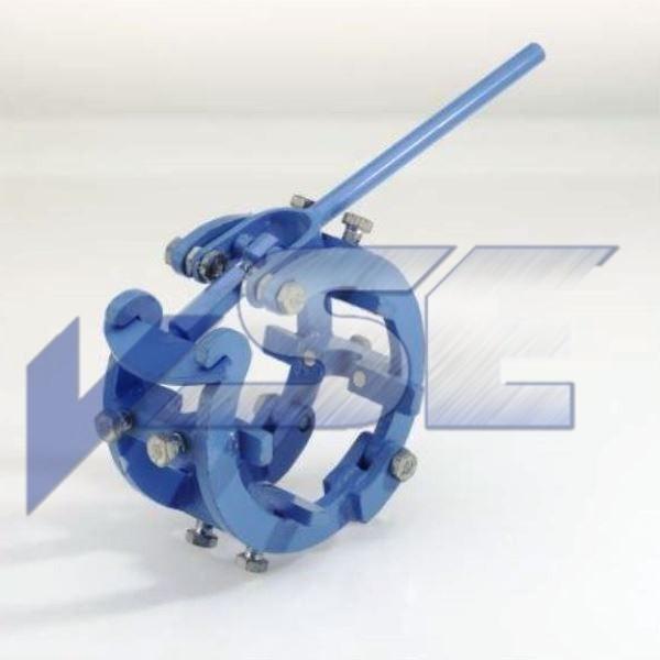 RAZ Rohraussenzentrierung mechanisch mittelschwere Ausführung