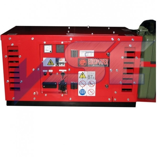 EUROPOWER Stromerzeuger EPS 2500 DE 2,5 kVA