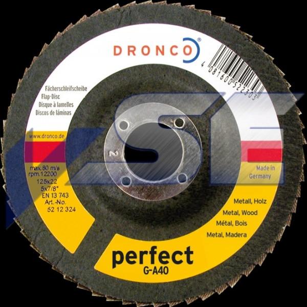 Dronco Polierfächerscheibe G-A Perfect 125