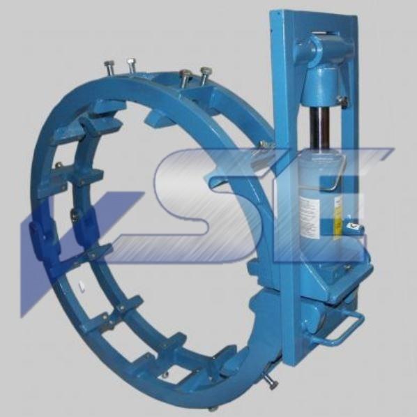 RAZ Rohraussenzentrierung hydraulisch superschwer mit 20t Zylinder