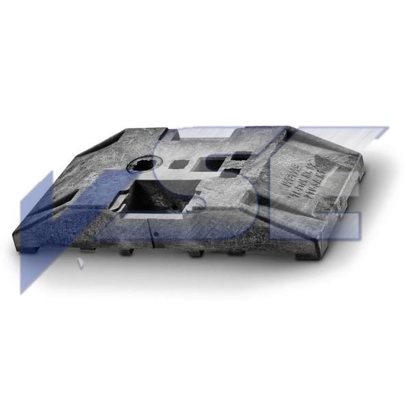 WEMAS TL-Bakenfußplatte Typ MB-TL 92