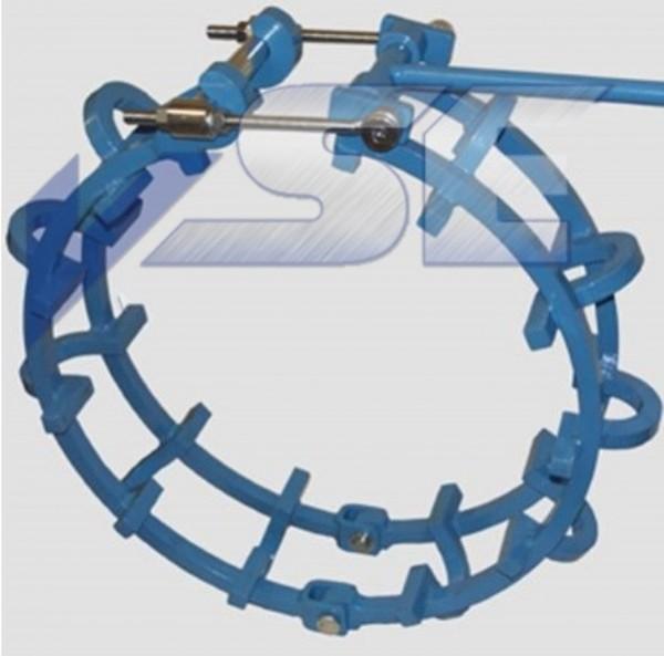RAZ Rohraussenzentrierung mechanisch mittelschwere Ausführung NO TACK