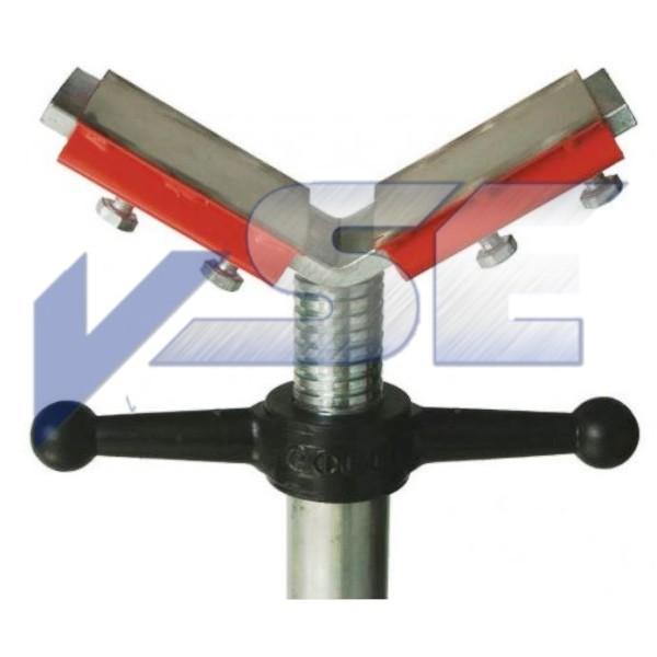 VSE Aufsatz Edelstahlplatten für V-Kopf SSH 300
