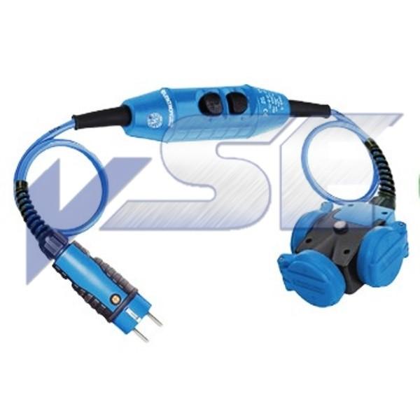 Personenschutzschalter PRCD-K für Stromerzeuger 3fach