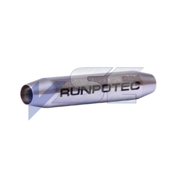 RUNPOTEC Zubehör für Glasfaserstab/Verbindungshülse für Ø 7,5 mm