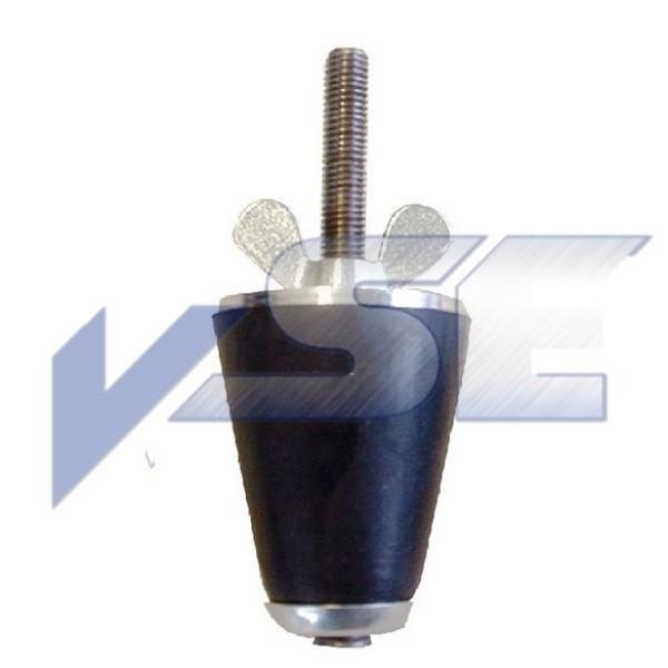 Rohrleitungs-Prüfstopfen, Rohrverschlussstopfen konisch