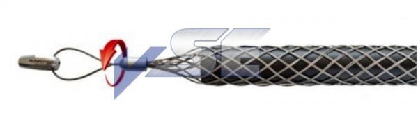 RUNPOTEC Kabelziehstrumpf mit Drallausgleich RTG6/12