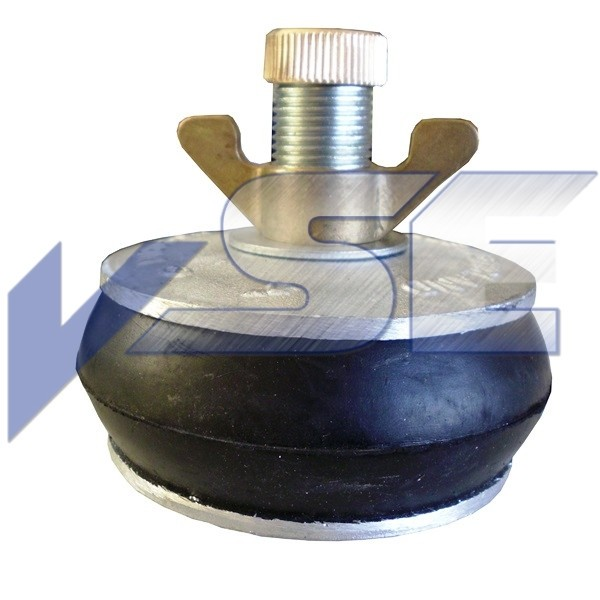 Rohr - Absperrscheiben Rohrstopfen mit 1 Dichtring Ausführung Aluminium