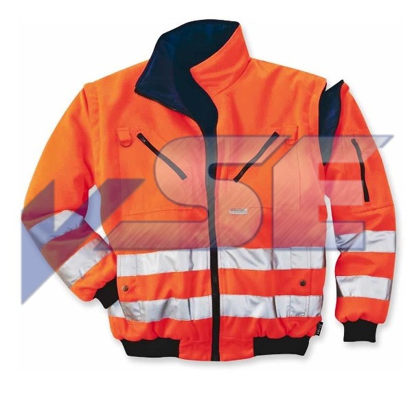 Elutex Wende Warnschutz Pilotenblouson 4 in 1 Safety