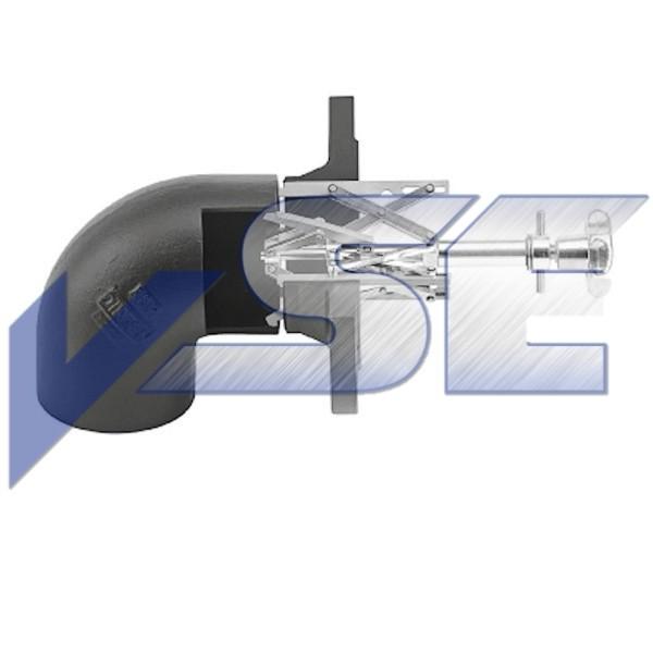 Rohr - Innenzentriervorrichtung für Rohrbögen und Krümmer Typ 5 Gr. 1