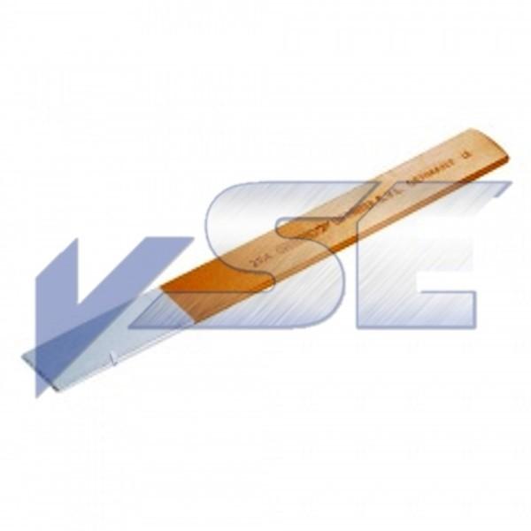 Gedore Space-Eisen Schlitzmeißel extra flach, 240x26x4 mm