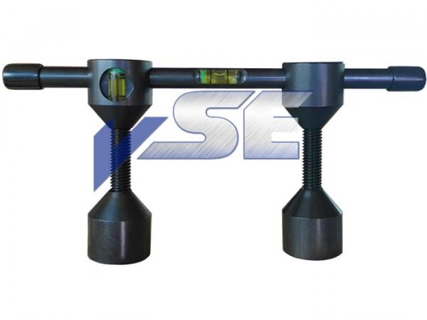 ART WELDING Selbstzentrierende Passbolzen mit integrierter Wasserwaage