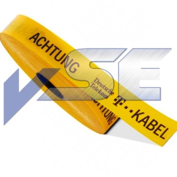 Trassenwarnband 94 - Gelb
